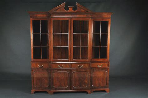 Mahogany China Cabinet by 4 Door Mahogany China Cabinet