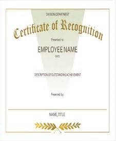 employee recognition awards templates 23 blank award certificate
