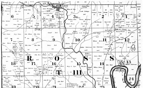 Ross County Records Mcbride S 1836 Butler County Township Maps