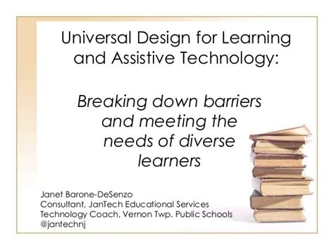 universal design is important and helpful in remodeling universal design for learning
