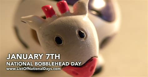 a s bobblehead days national bobblehead day list of national days