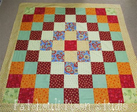 Trip Around The World Quilts by Patchouli Moon Studio Lil Trip Around The World