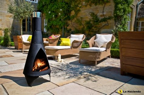 chiminea covered patio steel chimenea modern steel patio heater contemporary