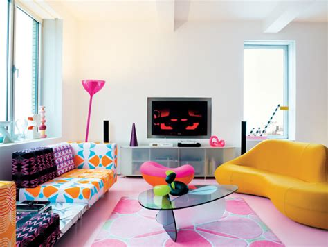 modern pop art style apartment karim rashid apartment interiors