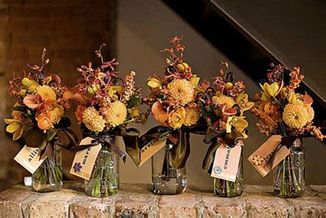 fall wedding decorations with jars show me jar centerpieces inspiration project