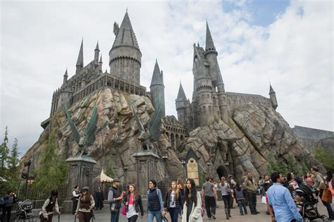 theme park harry potter here s what a 500 million harry potter theme park looks