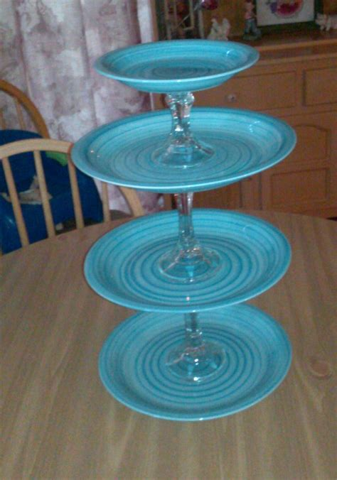 Diy Cupcake Stand Ideas Cupcake Stand Craft Ideas Pinterest