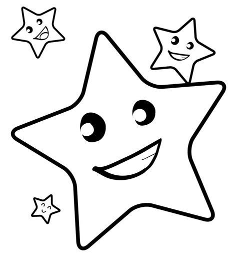 fun coloring pages clipart printable picture of a star clipart best
