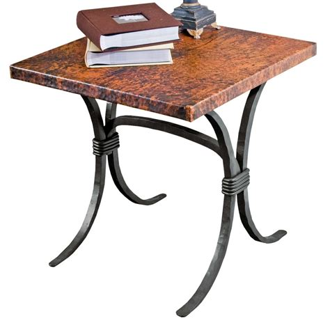 Wrought Iron End Tables by Pictured Here Is The Salisbury End Table With 24 Quot Square