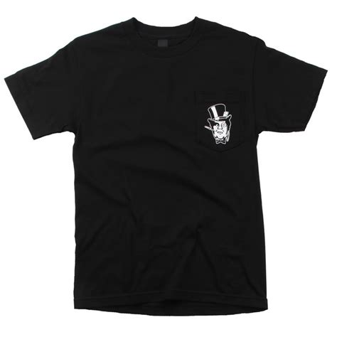 Tshirt Kaos Obey obey clothing bourgeois andre pocket t shirt evo