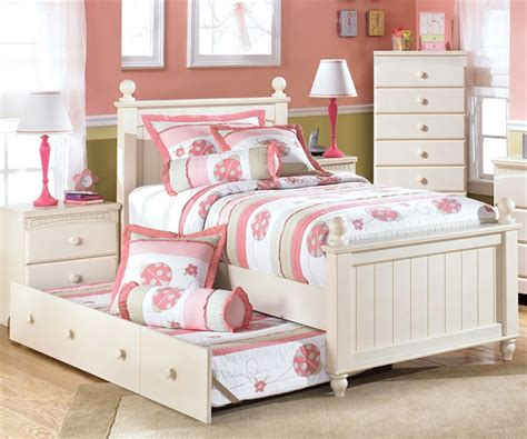 ashley furniture twin beds kids twin bed cottage retreat by ashley furniture at