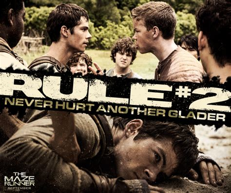 maze runner film nothing like book the death cure on twitter quot all the gladers have is each