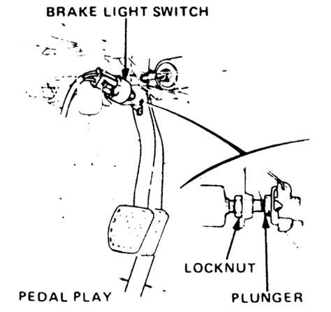 brake lights wont turn off honda accord repair guides brake operating system adjustments