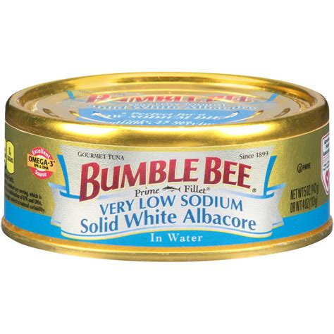 bumble bee 174 prime fillet 174 solid white albacore low