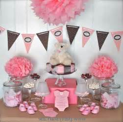 Decorating Ideas For Baby Shower Gift Table Baby Shower Centerpiece Ideas Baby Shower Decoration Ideas