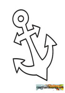anchor coloring page anchor coloring pages coloring pages