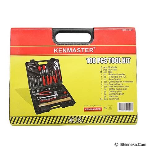 Kenmaster Tool Kit 100 Pcs N2 jual kenmaster tool kit 100 pcs n2 merchant murah bhinneka
