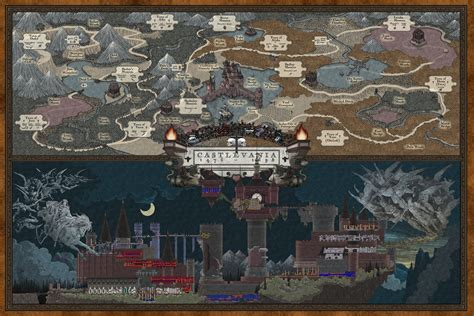 castlevania full hd wallpaper  background
