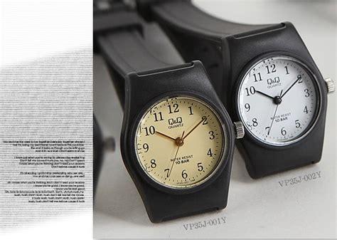 Harga Jam Tangan Wanita Merk Qq jual jam tangan anak pria wanita merk qq qandq q q