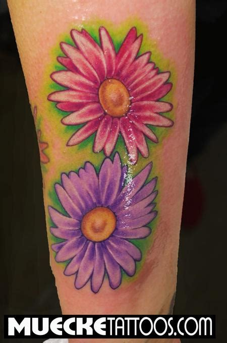 daisy tattoos and designs page 76