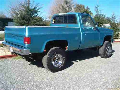 sell   chevy short bed  rust  ca truck