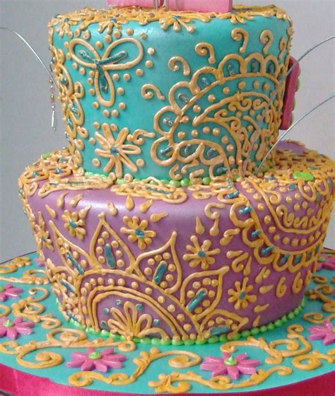 henna design on cake henna inspired cakes cutiedoki cakes and sweets