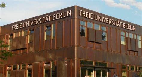 Fu Universitat Berlin Bewerbung Ag M 252 Ller Fachbereich Biologie Chemie Pharmazie
