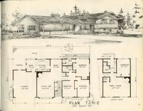 1950s Ranch House Floor Plans Ranch House Floor Plans 1950 Modern Home Design And