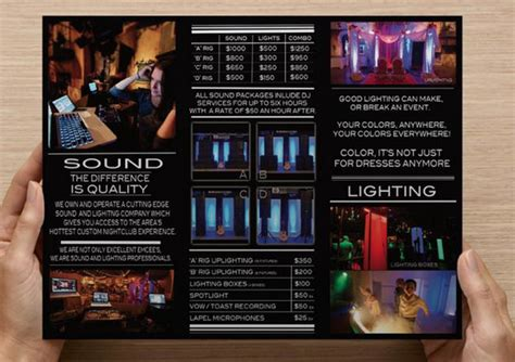 Wedding Dj Brochure by Vessel Live Lincoln Ne Wedding Dj