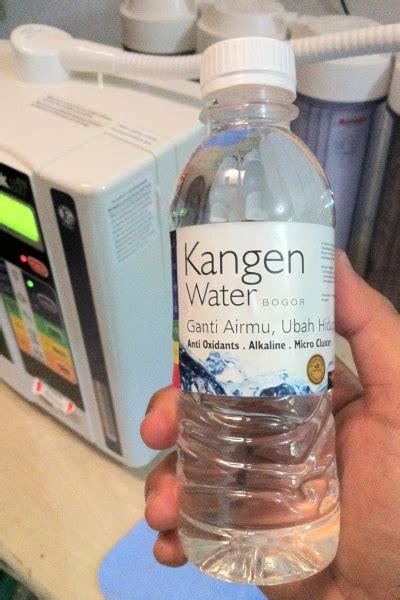 Kangen Water Botol 330ml bogorklik dari bogor untuk anda