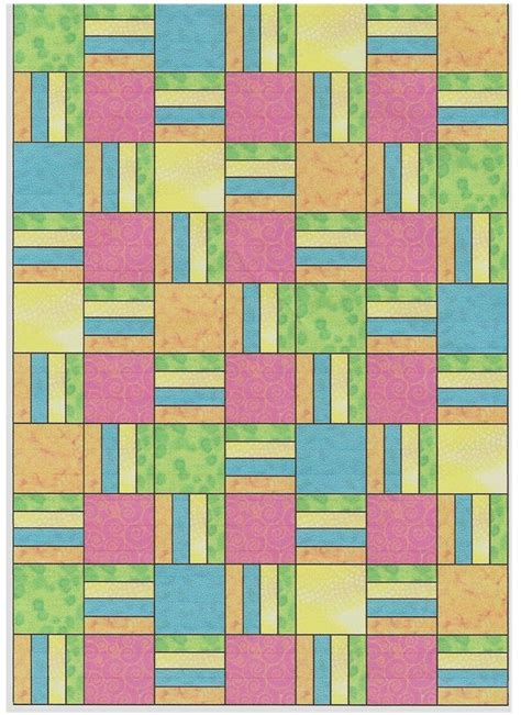 Free Quilt Square Patterns free quilt pattern bars squares sayings