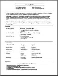 Most Effective Resume Format by Most Effective Resume Format Exles Source