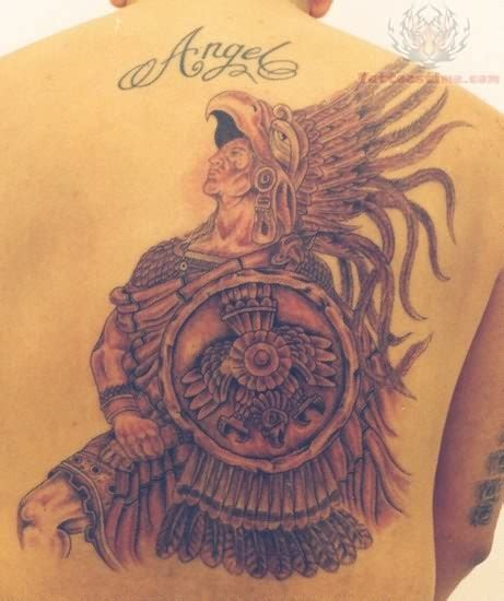 Mexican Tattoo Images Designs Mexican Aztec Tattoos Designs