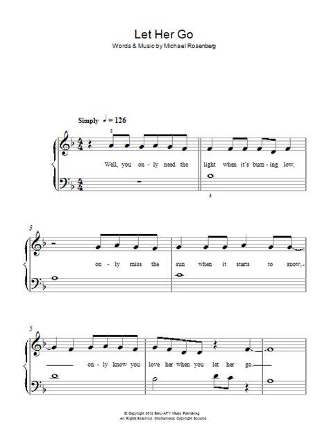 ukulele tutorial let her go let her go sheet music direct