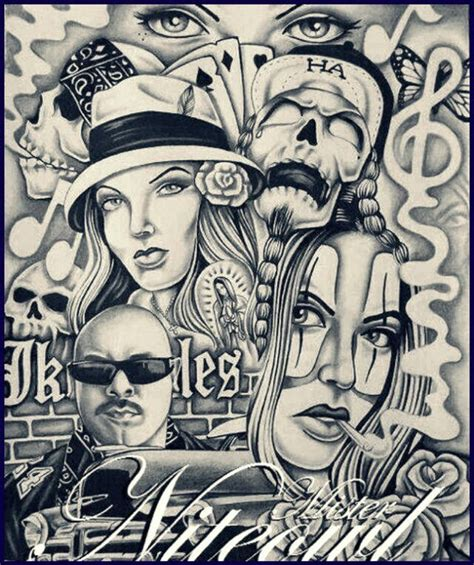 469 best drawing artwork images on pinterest chicano art