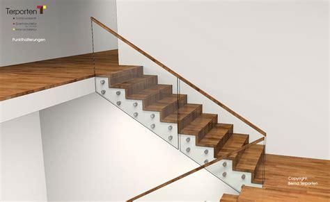 Schiebetüren Aus Glas Für Innen by Glasbr 252 Stungen Balkon Treppe Ma 223 Anfertigung Terporten
