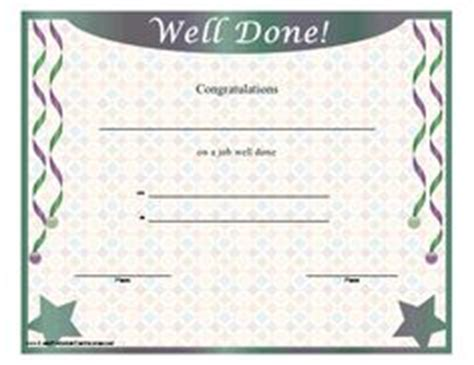 well done certificate template 1000 images about may day on seed packets