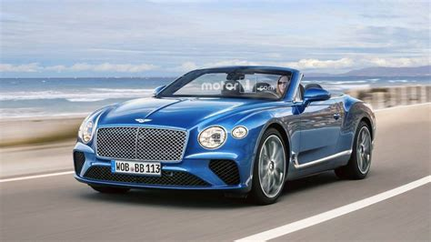 2019 bentley continental 2019 bentley continental gtc render motor1 photos