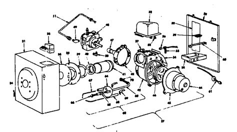 beckett burner parts diagram 6 best images of burner parts diagram beckett