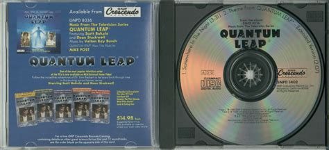 theme song quantum leap quantum leap soundtrack somewhere in the night cd single
