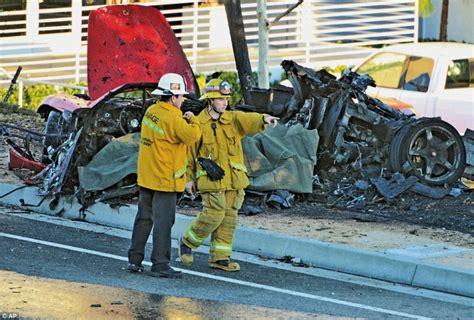 paul walker porsche paul walker killed in porsche crash in california fast