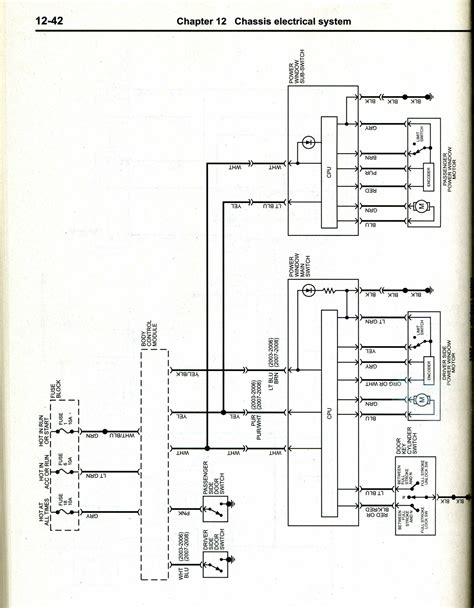 grand prix power window motor wiring diagram