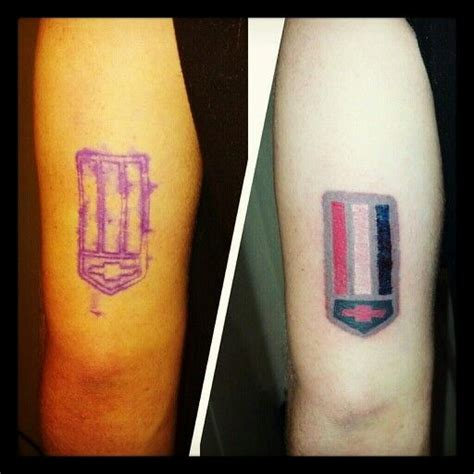 camaro tattoo camaro badge stafford l13