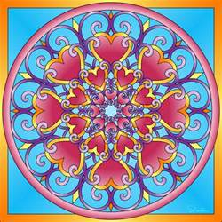 colorful mandala free coloring pages of mandalas