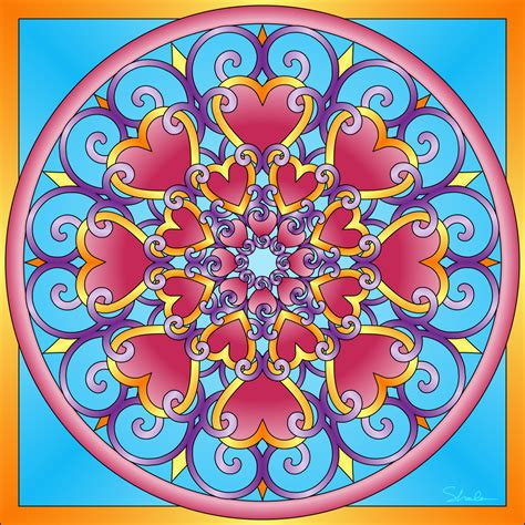 colored mandala don t eat the paste mandalas coloring pages