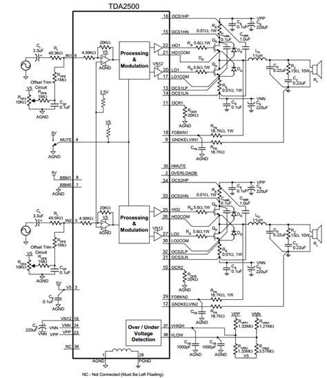 Tda8947j awesome digital schematic contemporary wiring diagram ideas blogitia