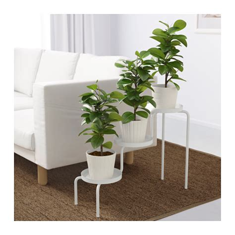 ikea plants ikea ps 2014 plant stand in outdoor white 53 cm ikea