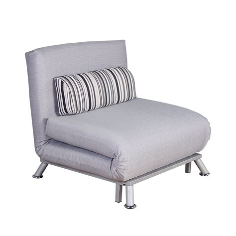 Fold Out Futon Single Sofa Bed With Pillow Ideal Home