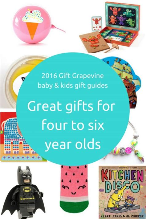 Gift Ideas For 6 Year - gift ideas age 4 6 archives giftgrapevine au