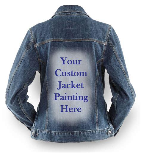 Customized Jacket Artwork By Johanna